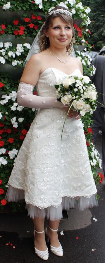 свадебный наряд невесты 40 лет нас